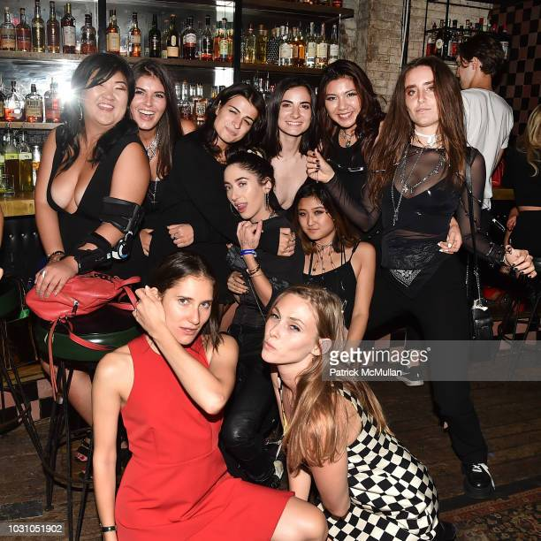 Guests attend the Nicole Miller Spring 2019 After Party at Acme on September 6 2018 in New York City