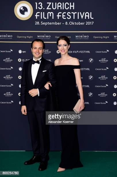 Guests attend the opening ceremony and 'Borg vs McEnroe' premiere at the 13th Zurich Film Festival on September 28 2017 in Zurich Switzerland The...