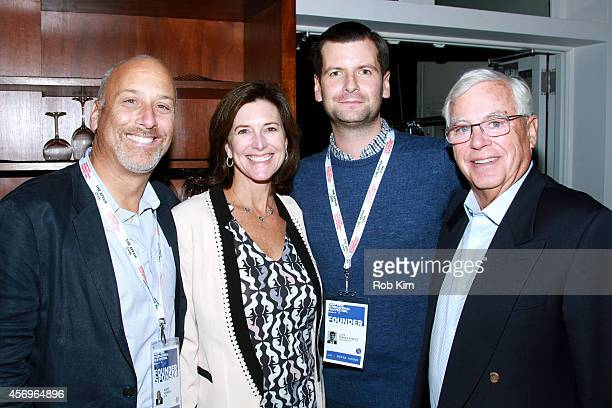 Guests attend the Opening Night Party during the 2014 Hamptons International Film Festival on October 9 2014 in East Hampton New York
