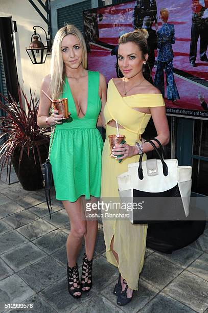 Guests attend the Oscars Viewing Party at the Private Residence of Jonas Tahlin CEO of Absolut Elyx on February 28 2016 in Los Angeles California