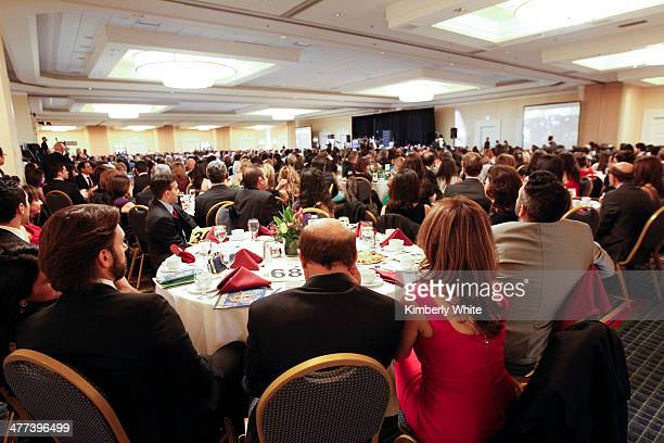 Guests attend the PARS Equality Center 4th Annual Nowruz Gala at Marriott Waterfront Burlingame Hotel on March 8 2014 in Burlingame California