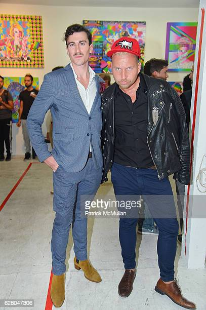 Guests attend the Patricia Field Art Basel Debut with Art Fashion Pop Up and Runway Presentation at The White Dot Gallery in Wynwood on December 1...