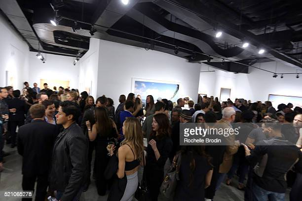 Guests attend the Photo Femmes Exhibition Opening at De Re Gallery featuring the work of Ashley Noelle Bojana Novakovic and Monroe at De Re Gallery...