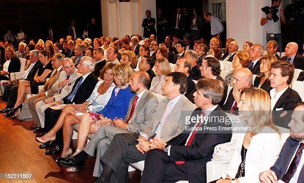Guests attend the presentation of 'El Legado Casa de Alba' painting exhibition on September 14, 2012 in Madrid, Spain.