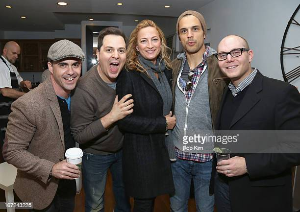 Guests attend the Producers Reception during the 2013 Tribeca Film Festival April 22 2013 in New York City