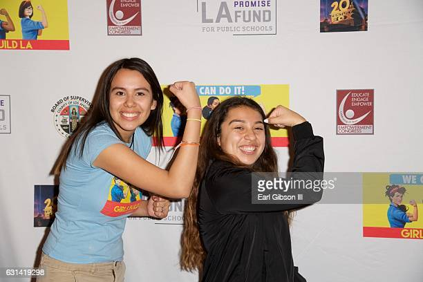 Guests attend the LA Promise Fund Screening Of 'Hidden Figures' at USC Galen Center on January 10 2017 in Los Angeles California