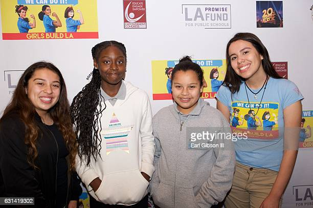 Guests attend the LA Promise Fund Screening Of Hidden Figures at USC Galen Center on January 10 2017 in Los Angeles California