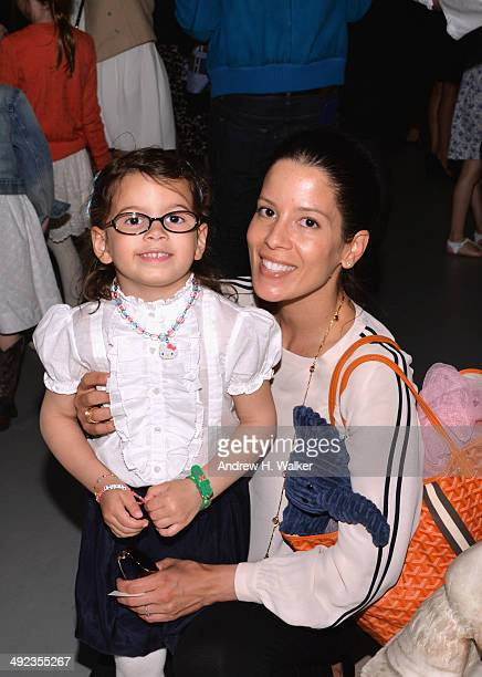 Guests attend the Ralph Lauren Fall 14 Children's Fashion Show in Support of Literacy at New York Public Library on May 19 2014 in New York City