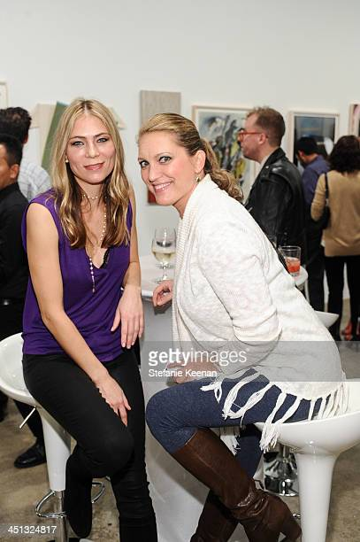 Guests attend The Rema Hort Mann Foundation LA Artist Initiative Benefit Auction on November 21 2013 in Los Angeles California