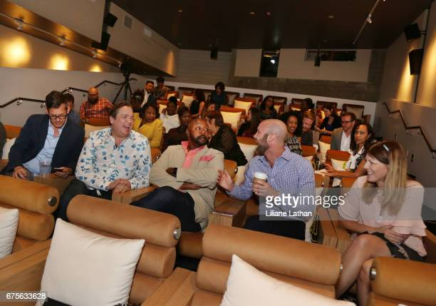Guests attend the reveal of the RaiseAChild's 'Reimagine Foster parents' campaign at NeueHouse Hollywood on May 1st 2017 in Los Angeles California