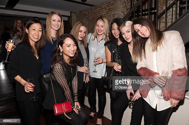 Guests attend the REVOLVE relaunch party on February 11 2014 in New York City
