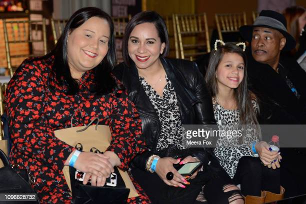 Guests attend the runway for TRICO FIELD At New York Fashion Week Powered By Art Hearts Fashion NYFW at The Angel Orensanz Foundation on February 9...