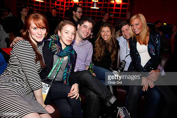Guests attend the SAG Indie Party during the 2012 Tribeca Film Festival at the Bowlmor Lanes on April 22 2012 in New York City