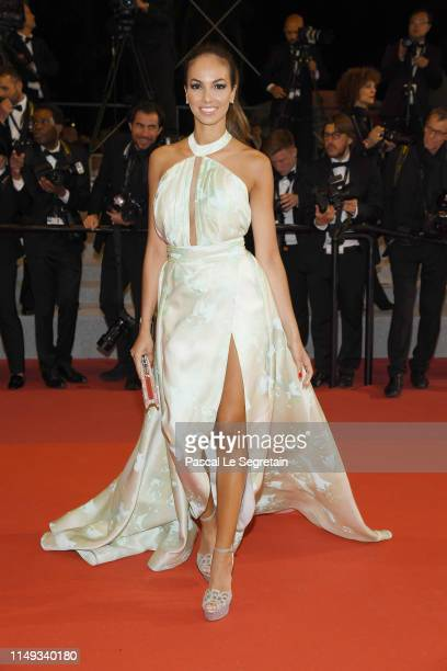 Guests attend the screening of Les Miserables during the 72nd annual Cannes Film Festival on May 15 2019 in Cannes France