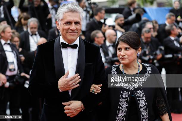 """Guests attend the screening of """"Once Upon A Time In Hollywood"""" during the 72nd annual Cannes Film Festival on May 21, 2019 in Cannes, France."""