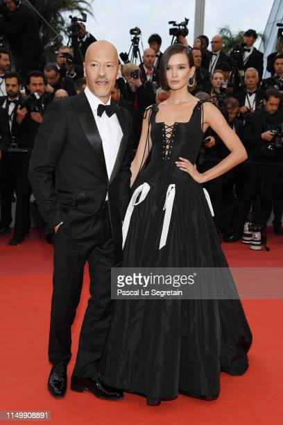 Guests attend the screening of Pain And Glory during the 72nd annual Cannes Film Festival on May 17 2019 in Cannes France