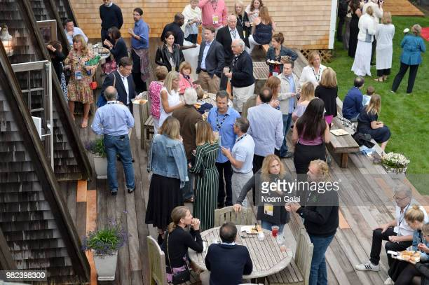 Guests attend the Screenwriters Tribute at the 2018 Nantucket Film Festival Day 4 on June 23 2018 in Nantucket Massachusetts