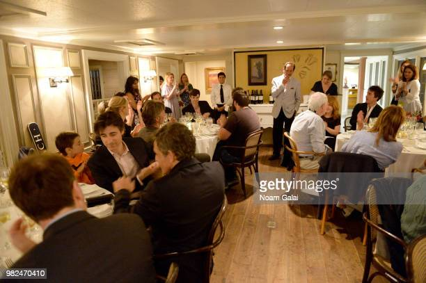 Guests attend the Screenwriters Tribute dinner at the 2018 Nantucket Film Festival Day 4 on June 23 2018 in Nantucket Massachusetts