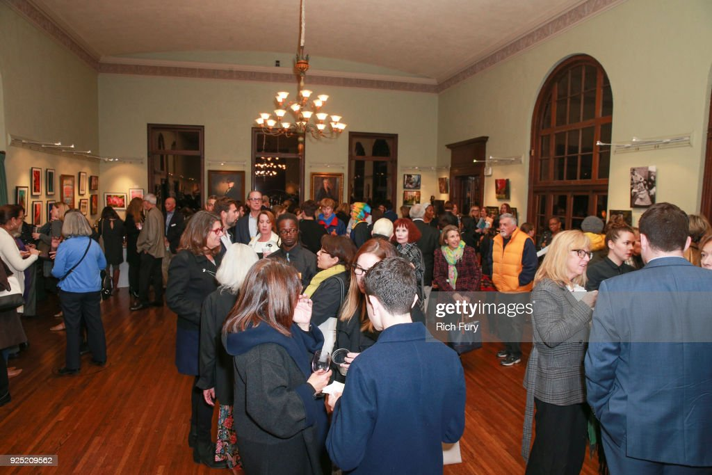 Guests attend the Stories From The Front Line charity program at the Ebell of Los Angeles on February 27, 2018 in Los Angeles, California.
