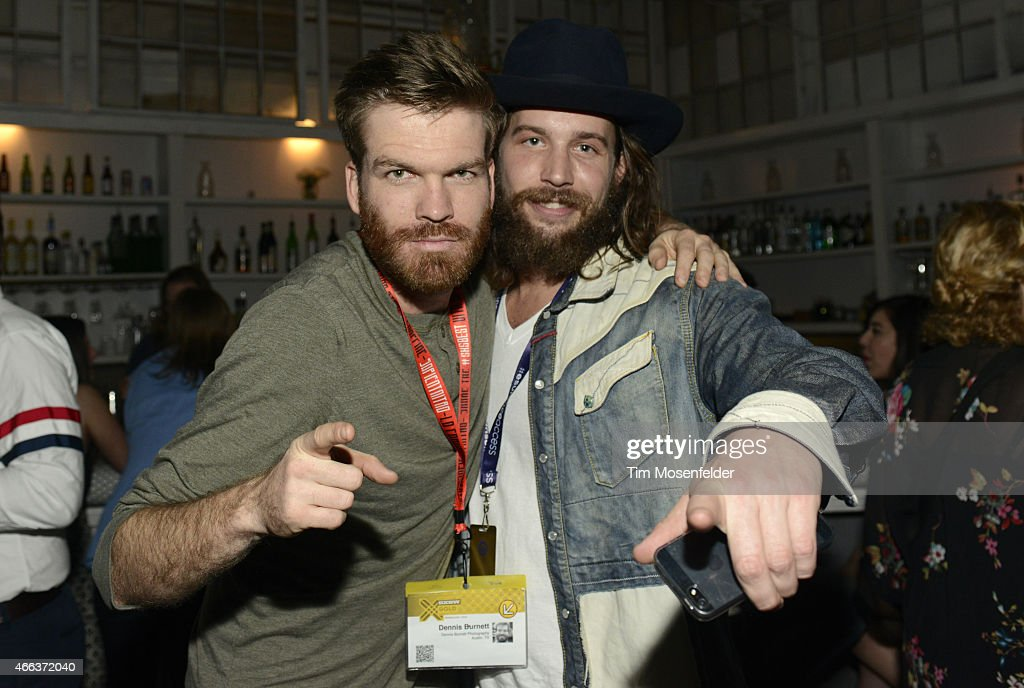 Guests attend the SXSW 'Ex Machina' Premiere Party at the Swan Dive nightclub on March 15, 2015 in Austin, Texas.