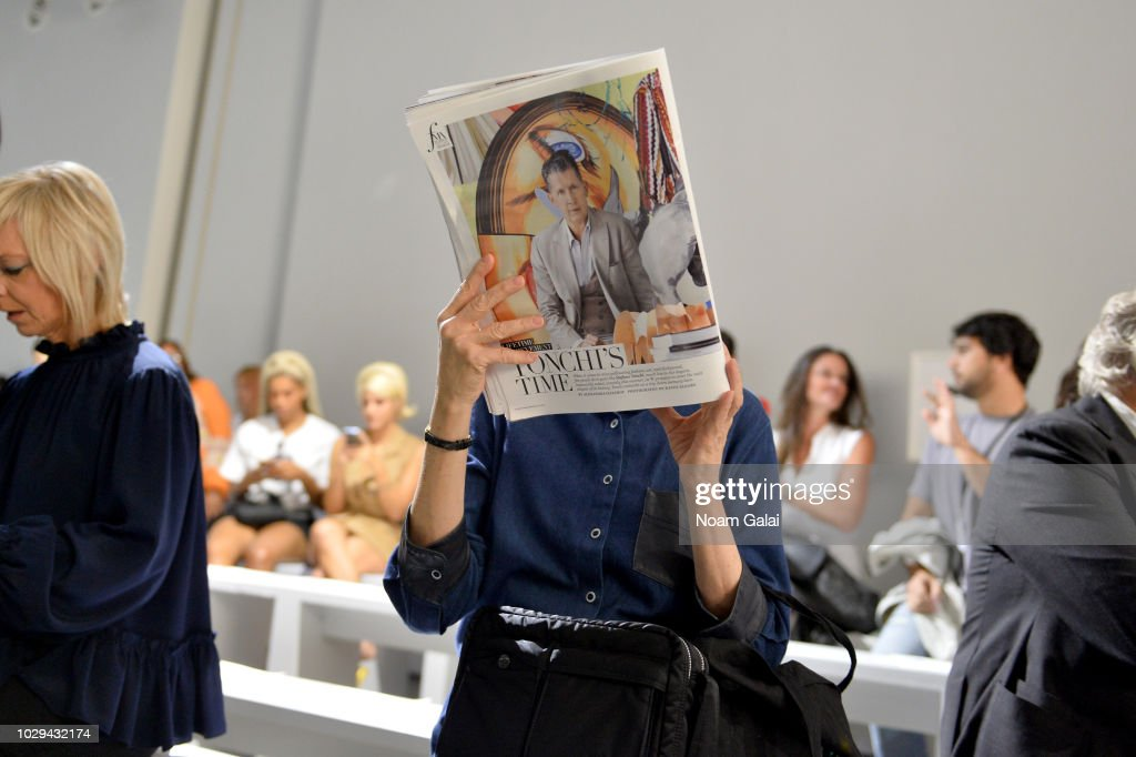 Guests attend the Taoray Wang show in gallery II during New York Fashion Week: The Shows on September 8, 2018 in New York City.