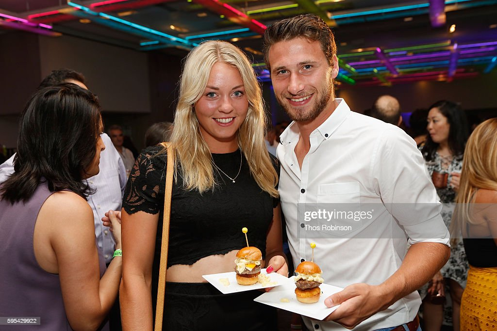 Guests attend the Taste Of Tennis New York on August 25, 2016 in New York City.