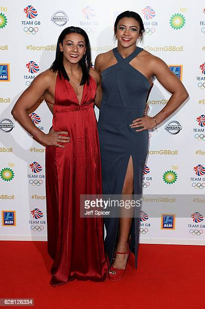 Guests attend the Team GB Ball at Battersea Evolution on November 30 2016 in London England