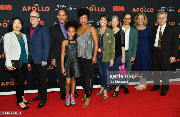 """Guests attend the """"The Apollo"""" screening during the 2019 Tribeca Film Festival at The Apollo Theater on April 24, 2019 in New York City."""