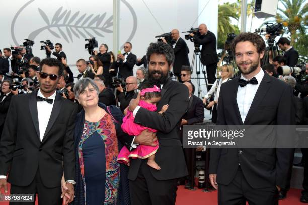 Guests attend the The Beguiled screening during the 70th annual Cannes Film Festival at Palais des Festivals on May 24 2017 in Cannes France