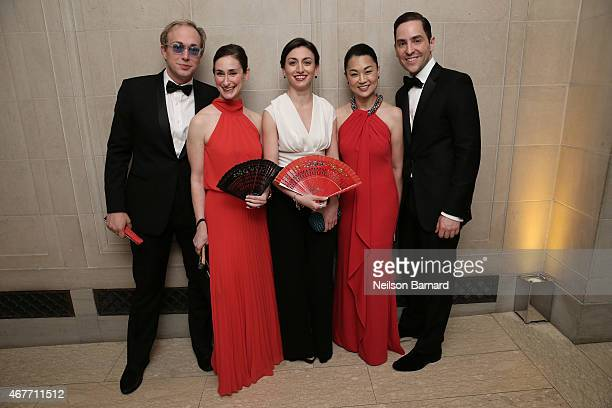 Guests attend the The Frick Collection 2015 Young Fellows Ball A Dance at the Spanish Court sponsored by LANVIN at The Frick Collection on March 26...