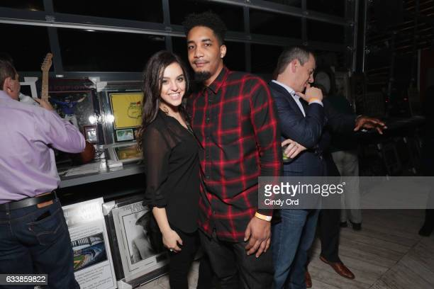 Guests attend the Thuzio Executive Club and Rosenhaus Sports Representation Party at Clutch Bar during Super Bowl Weekend on February 4 2017 in...