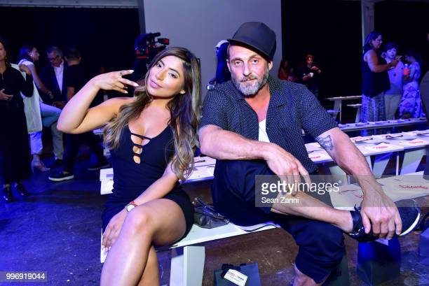 Guests attend the Todd Snyder S/S 2019 Collection during NYFW Men's July 2018 at Industria Studios on July 11 2018 in New York City