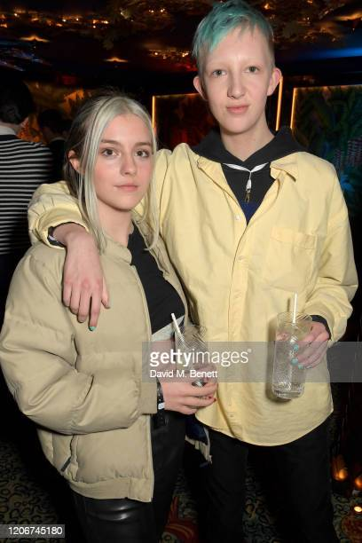 Guests attend the TOMMYNOW after party at Annabels on February 16 2020 in London England