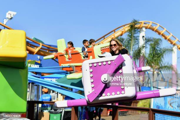 Guests attend the UCLA Mattel Children's Hospital's 19th Annual Party on the Pier at Santa Monica Pier on November 18 2018 in Santa Monica California