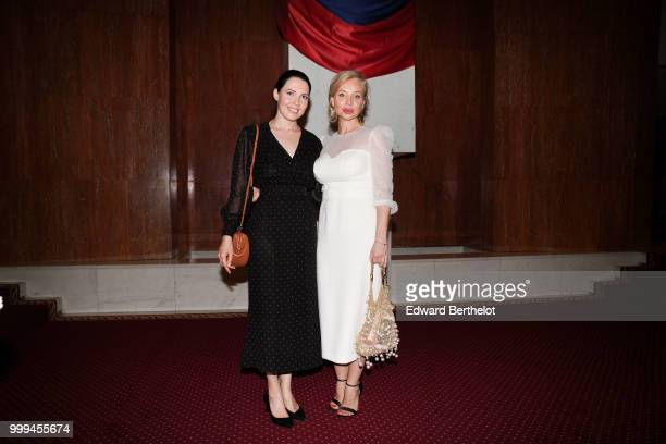 Guests attend the Ulyana Sergeenko Haute Couture Fall Winter 2018/2019 show as part of Paris Fashion Week on July 3 2018 in Paris France