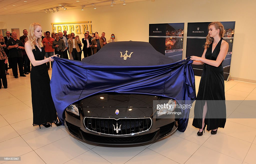 Maserati Silicon Valley New Quattroporte Unveiling