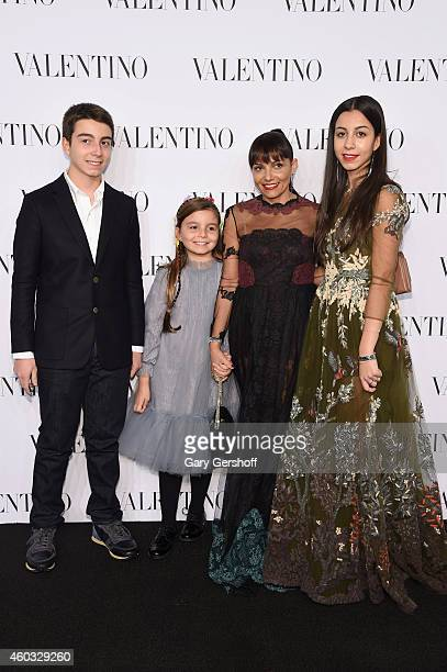 Guests attend the Valentino Sala Bianca 945 Event on December 10 2014 in New York City
