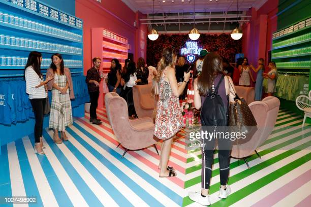 Guests attend the Vital Proteins Launches Feed Your Beauty Popup Store in Soho NYC on September 5 2018 in New York City