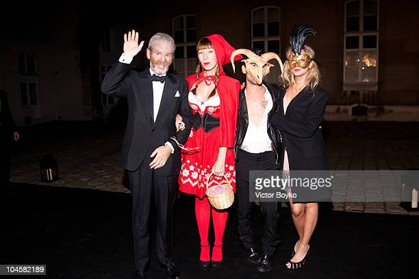 Guests attend the Vogue 90th Anniversary Party as part of Ready to Wear Spring/Summer 2011 Paris Fashion Week at Hotel Pozzo di Borgo on September 30...