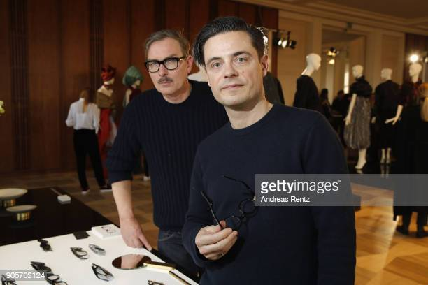 Guests attend the Vogue Salon during 'Der Berliner Salon' AW 18/19 at Kronprinzenpalais on January 16 2018 in Berlin Germany