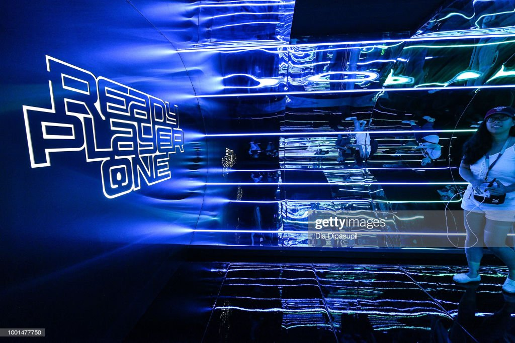 "Warner Bros. Home Entertainment Hosts ""The Ready Player One"" Experience At San Diego Comic-Con"