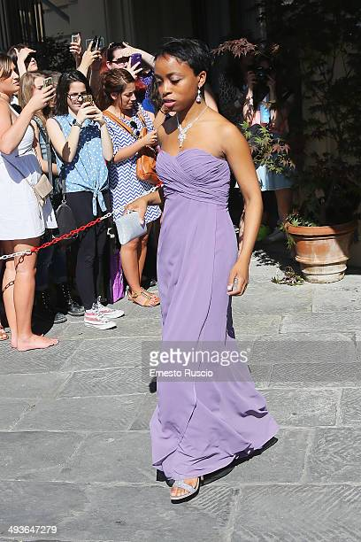 Guests attend the Wedding Of Kim Kardashian And Kanye West In Florence at Excelsior Hotel on May 24 2014 in Florence Italy