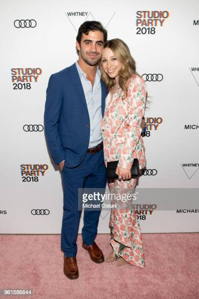 Guests attend the Whitney Museum Celebrates The 2018 Annual Gala And Studio Party at The Whitney Museum of American Art on May 22 2018 in New York...