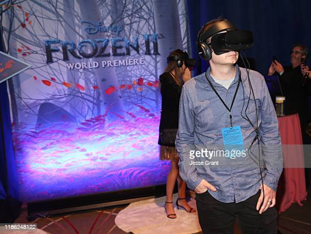 Guests attend the world premiere of Disney's Frozen 2 at Hollywood's Dolby Theatre on Thursday November 7 2019 in Hollywood California