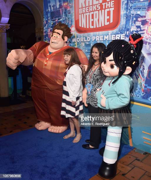 Guests attend the World Premiere of Disney's RALPH BREAKS THE INTERNET at the El Capitan Theatre on November 5 2018 in Hollywood California
