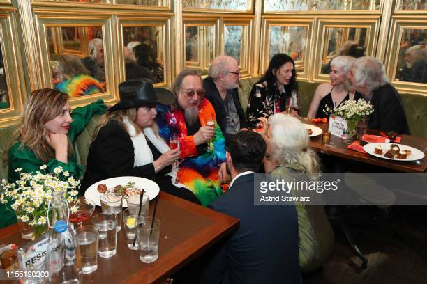 Guests attend the world premiere of Netflix's ROLLING THUNDER REVUE A BOB DYLAN STORY BY MARTIN SCORSESE at Tavern on the Green on June 10 2019 in...