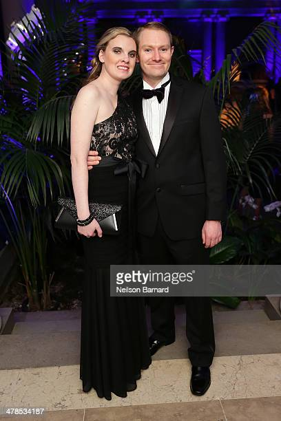 Guests attend the Young Fellows Celestial Ball presented by PAULE KA at The Frick Collection on March 13 2014 in New York City