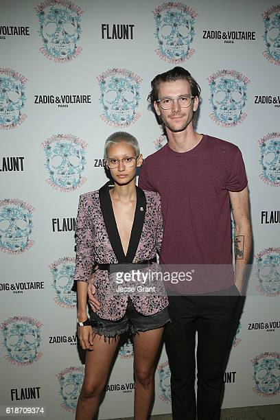 Guests attend the Zadig Voltaire and Flaunt Celebration of The FW16 Collection and The Oh La La Land Issue Ouest Coast at Zadig Voltaire on October...