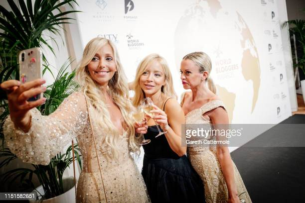 Guests attend the Inaugural 'World Bloggers Awards' during the 72nd annual Cannes Film Festival on May 24 2019 in Cannes France The 'World Bloggers...