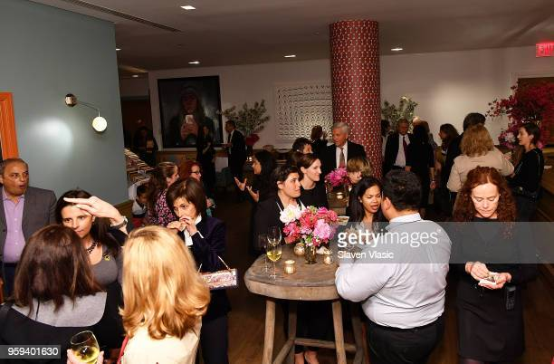 Guests attend 'This is Home A Refugee Story' New York Premier Screening at Crosby Street Hotel on May 16 2018 in New York City